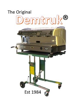 The original Demtruk: Exhibiting at the Coffee Shop Innovation