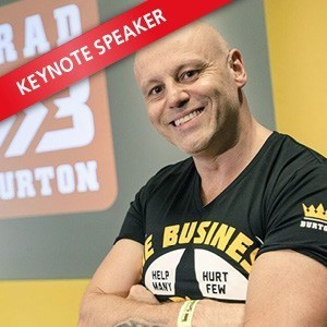 Brad Burton: Speaking at the Coffee Shop Innovation