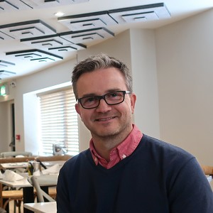 Stuart Jones: Speaking at the Coffee Shop Innovation