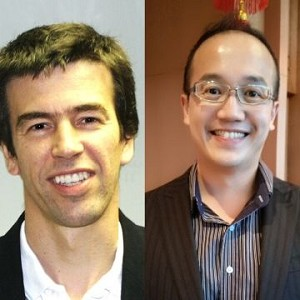Kenneth Teh and Julian de Selincourt: Speaking at the Coffee Shop Innovation